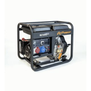 ITC POWER Full POWER Stromaggregat Diesel 8 KVA DG7800LE-T 230&400 V