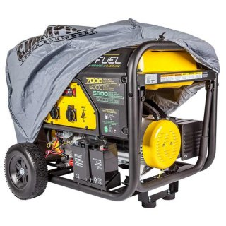 CHAMPION 7000 WATT DUAL FUEL GENERATOR WITH ELECTRIC START (220V EURO)