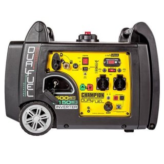 Champion Dual Fuel Inverter 3500W Benzin 3150W Gas Stromerzeuger mit E-Start 230V EU