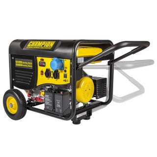 CHAMPION 5500 WATT PETROL GENERATOR WITH REMOTE START (220V EURO)